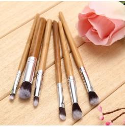 CH031-5# 6pcs Bamboo Makeup Brush Set
