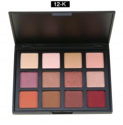 12E#, 12K#, 12P#, 12S#, 12Z#   12 Colors Eyeshadow Palette