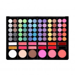 Wholesale & OEM Professional Cosmetics Products Waterproof 78 Colors Eyeshadow Palette