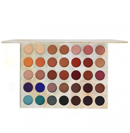 35C-J# 35 colors cardboard eyeshadow palette