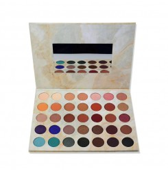 35C-J# 35 colors cardboard eyeshadow palette
