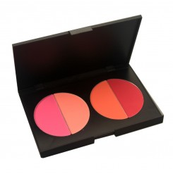 Wholesale & OEM Make up Tools Cosmetics 4 Color Waterproof Contour Palette Baked Blusher