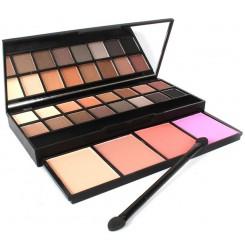 Wholesale & OEM Pigmented Naked Eyeshadow Waterproof Long Lasting 20 Colors Eyeshadow Palette with Brush