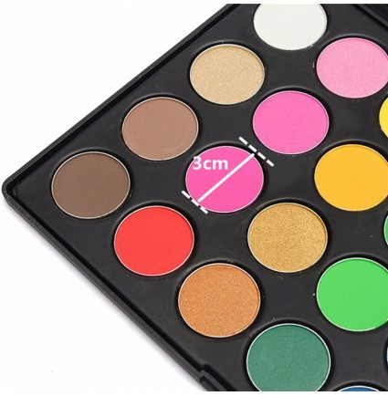 Eyeshadow Palette 28 Shimmer Colors Makeup Private Label