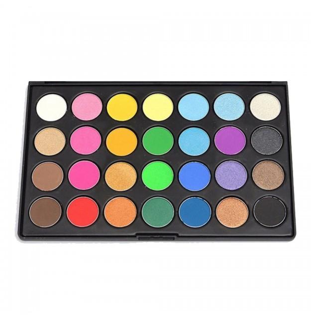 Wholesale & OEM Eyeshadow Palette 28 Shimmer Colors Makeup
