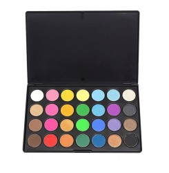 Wholesale & OEM Eyeshadow Palette 28 Shimmer Colors Makeup Private Label Eyeshadow Palette