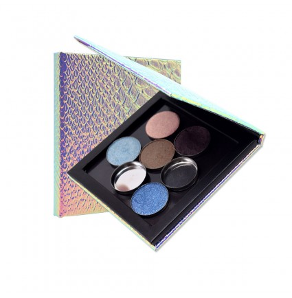 CTP-10# Square Mermaid Empty Magnetic Palette