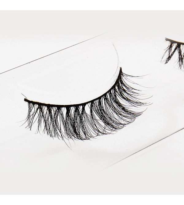 MT012 # Horse Hair 1 Pair Pack Eyelashes