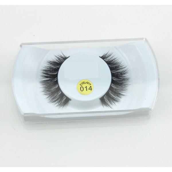 014# 1 Pair Pack Mink Eyelash